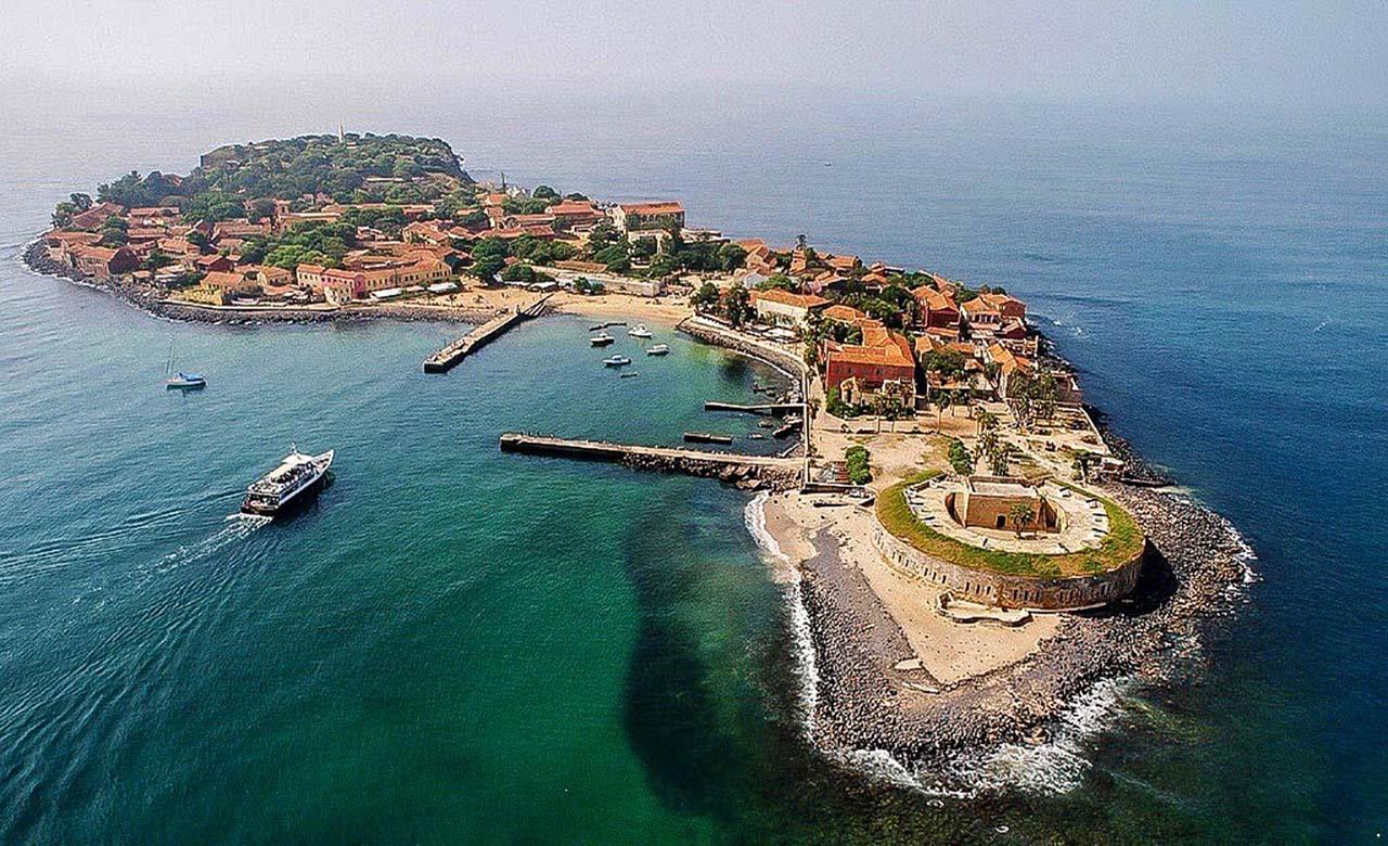 Île de Gorée au Senegal
