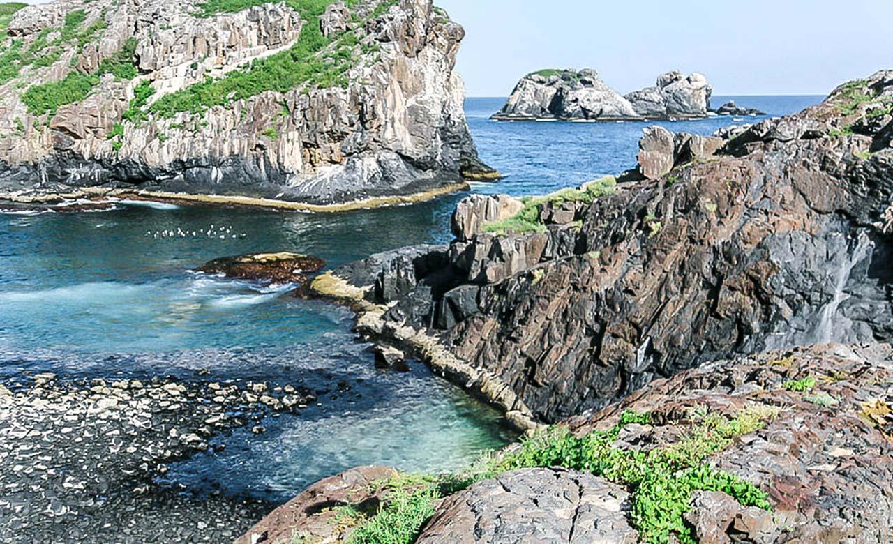 Les îles de la Medeleine à Dakar