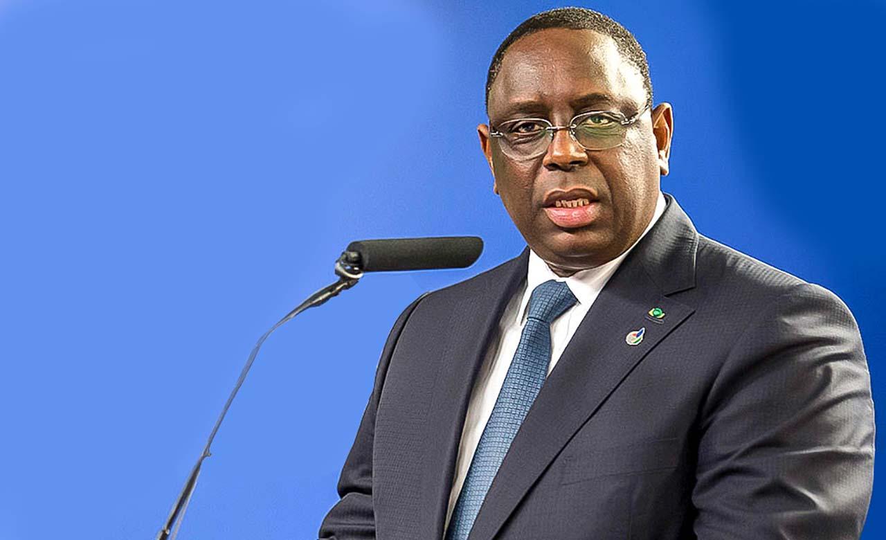 Le president du Senegal son excellence Macky-Sall