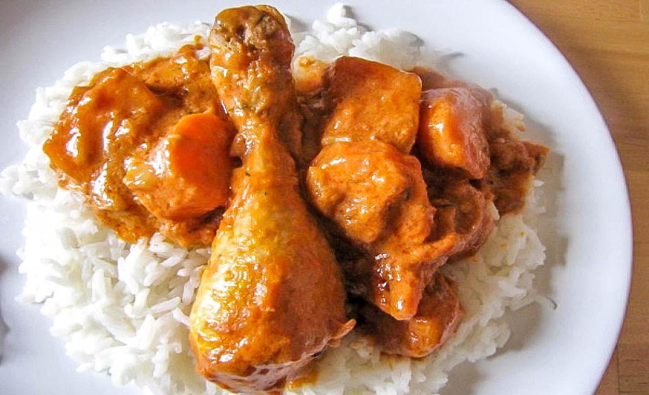 Mafe de poulet