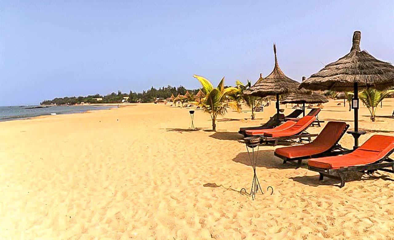La plage de Saly Portudal