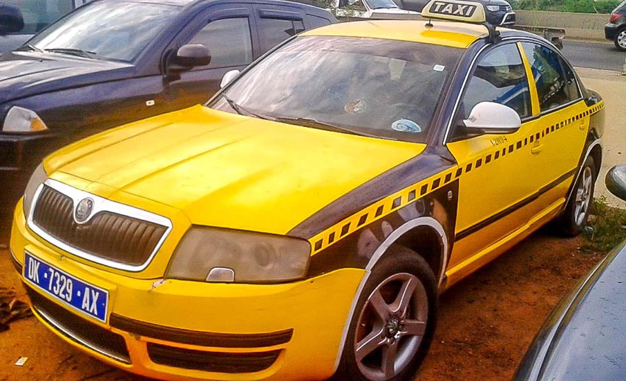 Taxi à Dakar