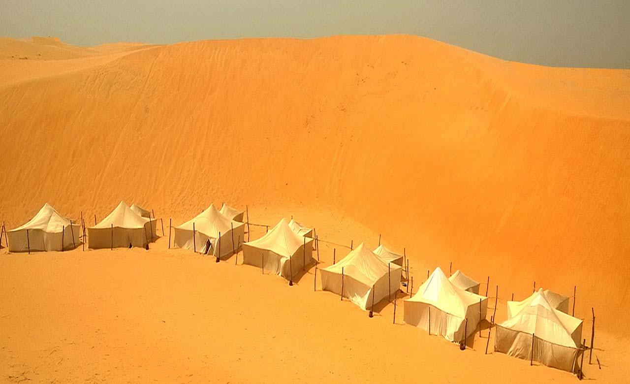 Desert de Lompoul au Senegal