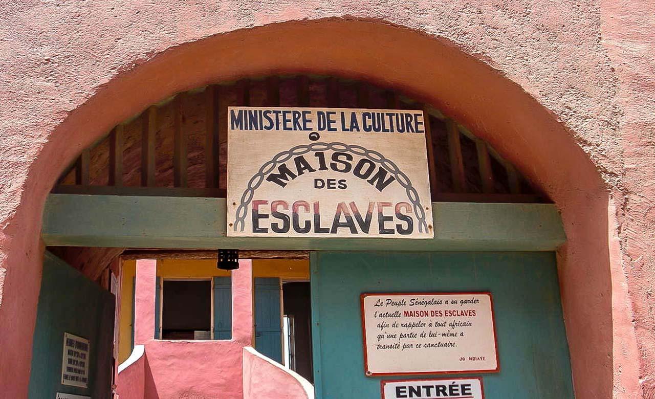 La maison des esclaves de Goree
