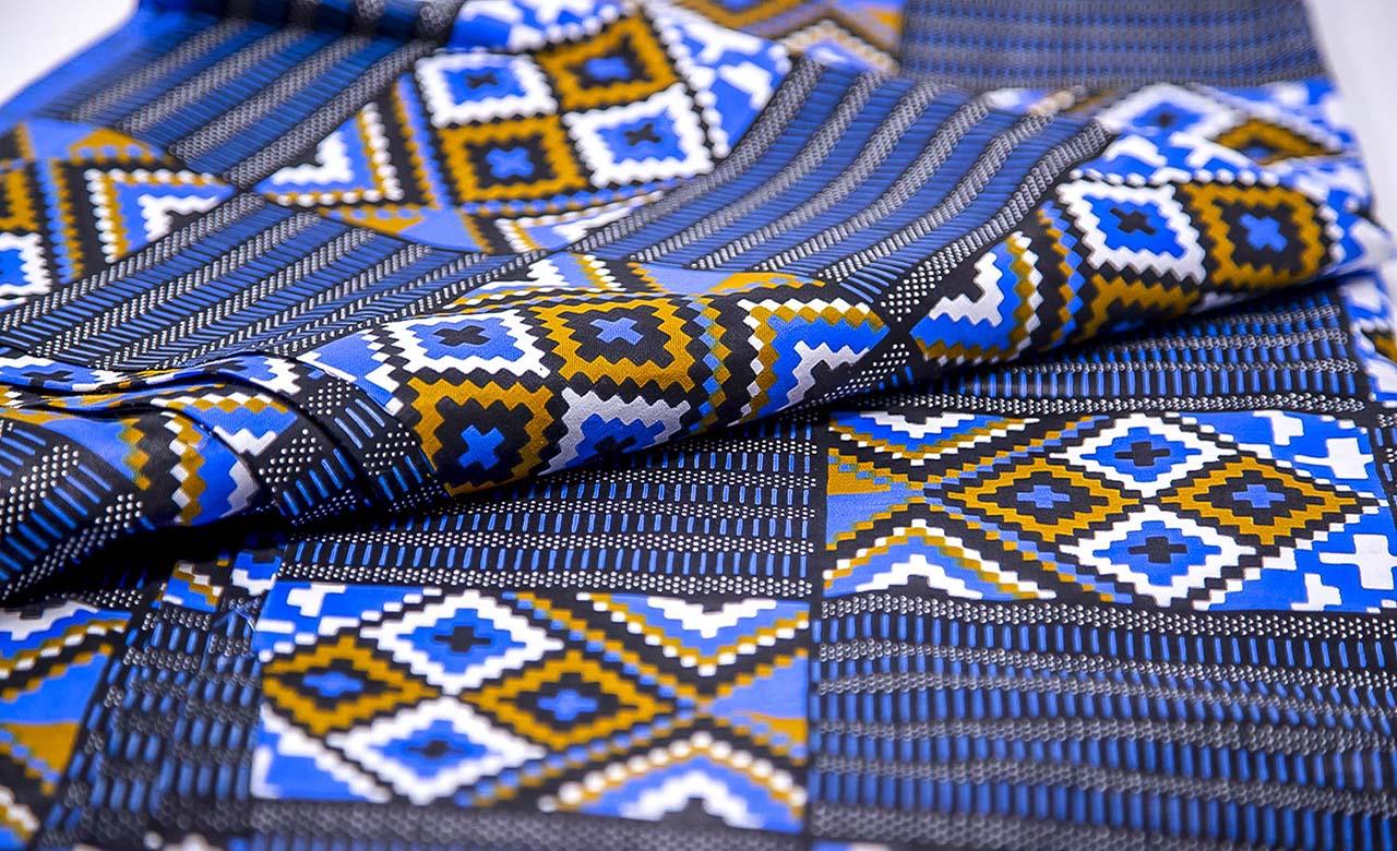 Pagne tissé Africain