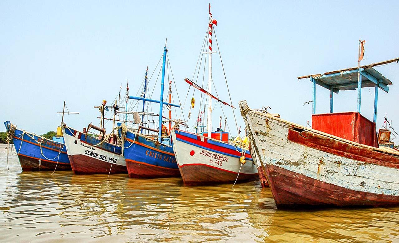 La plage du virage au Senegal